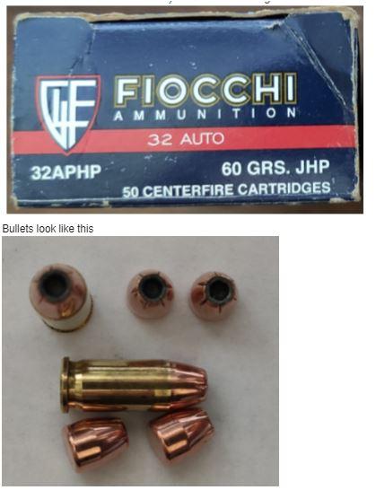 Fiocchi 32ACP ammo - Buyer Beware! Jhp10