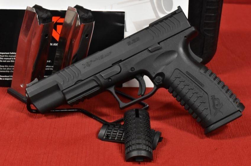 XDM 45 for Service Pistol Xdm10