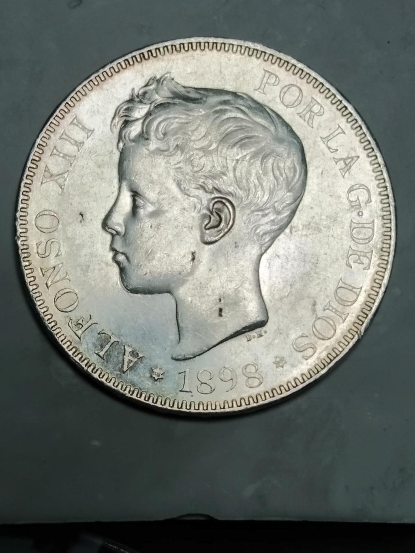 5 Pesetas 1898 (*18-98). Alfonso XIII 01_anv17