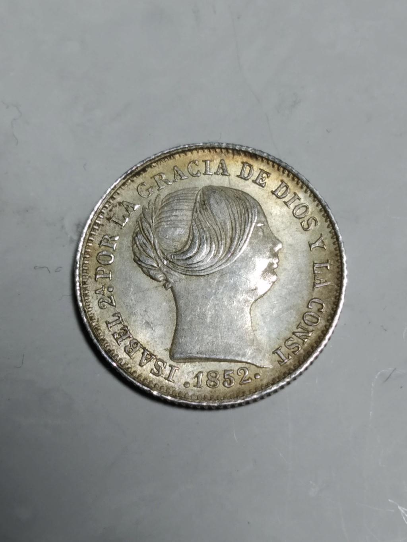 1 Real 1852. Isabel II. Madrid.   01_anv22