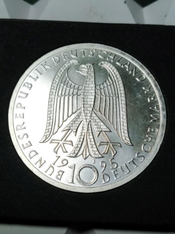 10 Marcos. Alemania. 1995. Bombardeo de Dresde 01_anv29