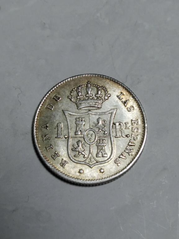 1 Real 1852. Isabel II. Madrid.   01_rev18