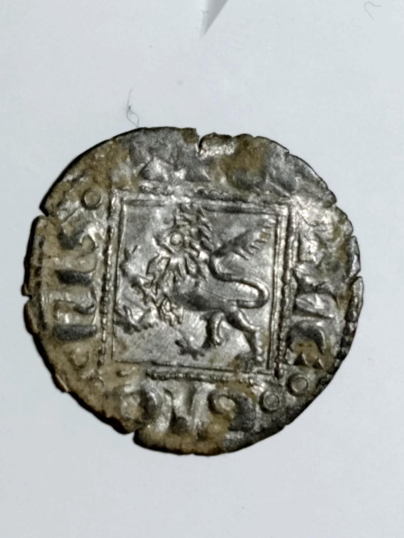 Dinero Noven de Alfonso XI. Toledo. 1330 d C.  01_rev20