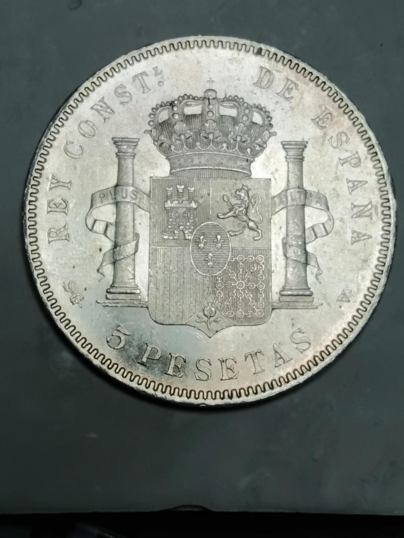 5 Pesetas 1898 (*18-98). Alfonso XIII 02_anv16