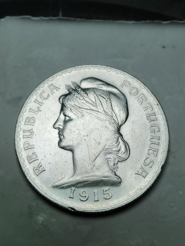 1 Escudo. Portugal. 1915.  02_anv19