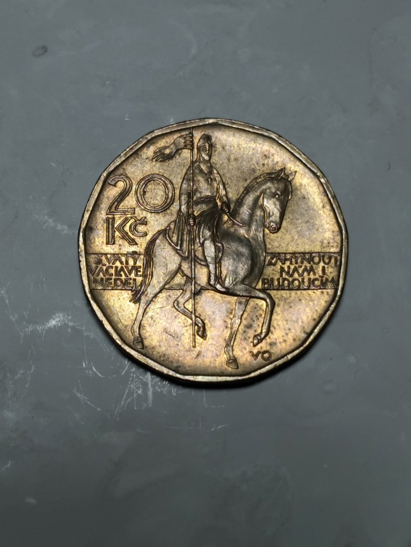 20 Coronas 2002. República Checa.  02_rev11