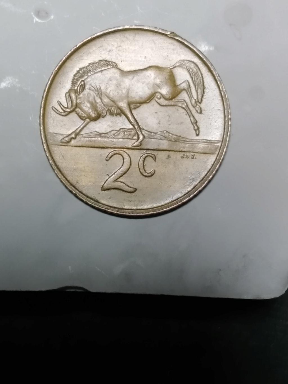 2 centavos. Sudáfrica. 1986 02_rev15