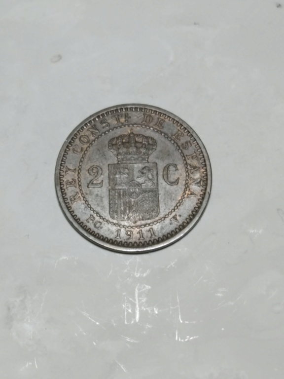 2 Céntimos 1911 *11. Alfonso XIII.  Revers32