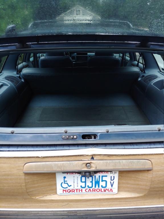 Custom sub box in my 96 wagon. 06071913