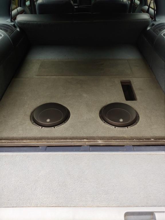 Custom sub box in my 96 wagon. 06071914