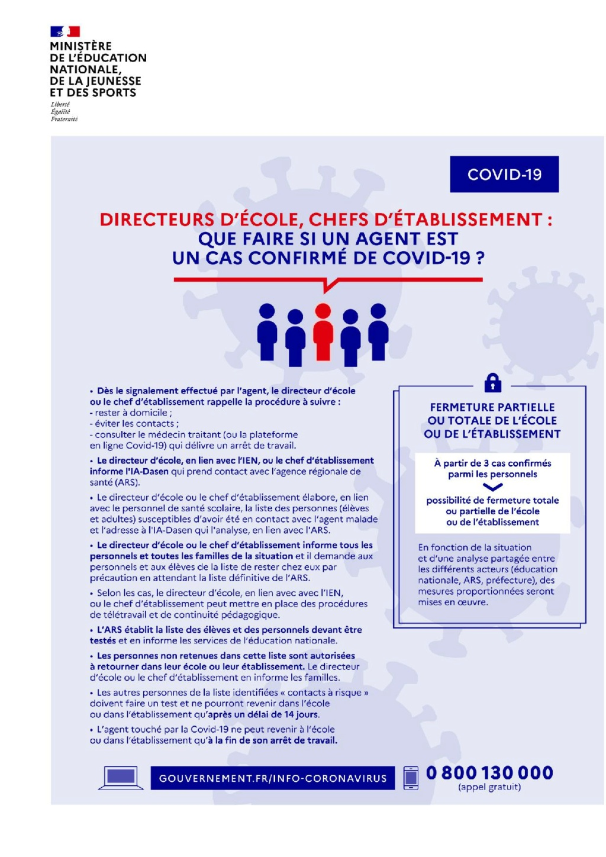Gestion de la crise du Coronavirus dans l'Education Nationale - Page 21 Que-fa11