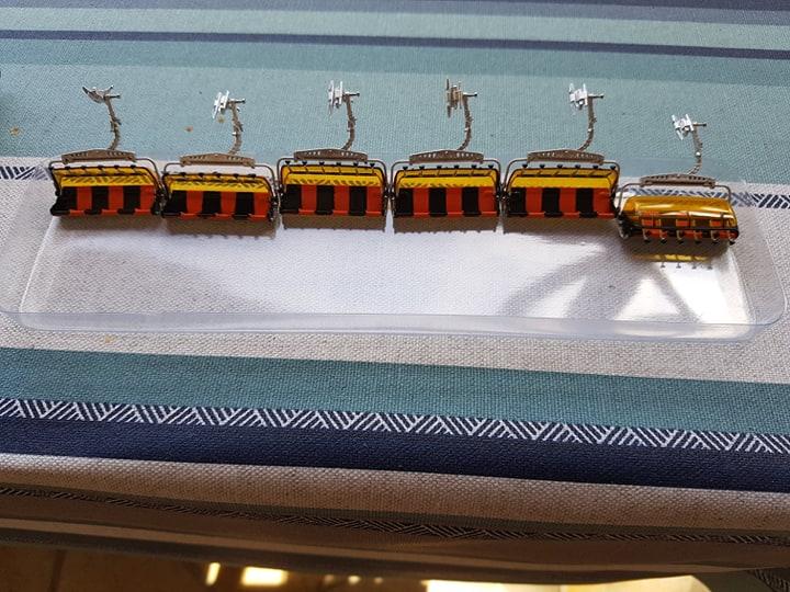 Station de ski miniature des trois vallées.  69402810