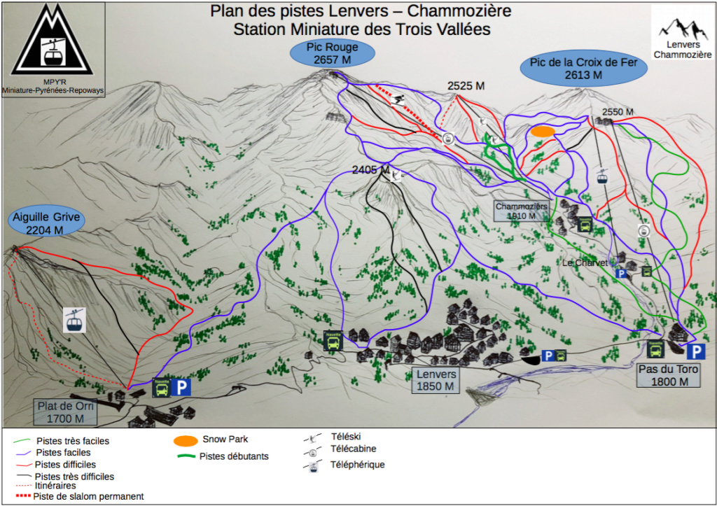 Station de ski miniature des trois vallées.  Captur11