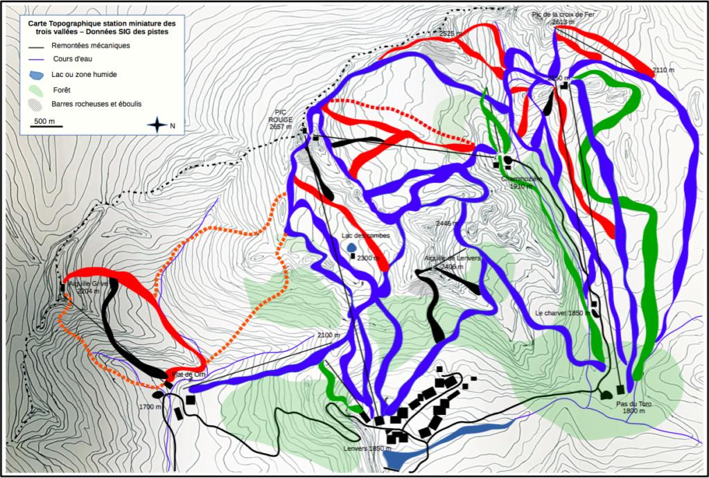 Station de ski miniature des trois vallées.  Donnzo10