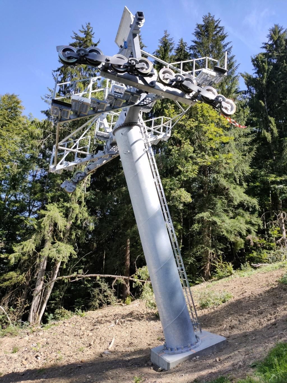 Remplacement télécabine débrayable de Vercland (Saix) - Samoëns Img20212