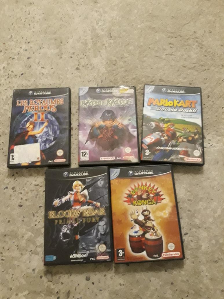 [EST] Jeux ps2 / Gamecube et jeu/ Dreamcast et jeu Gc10