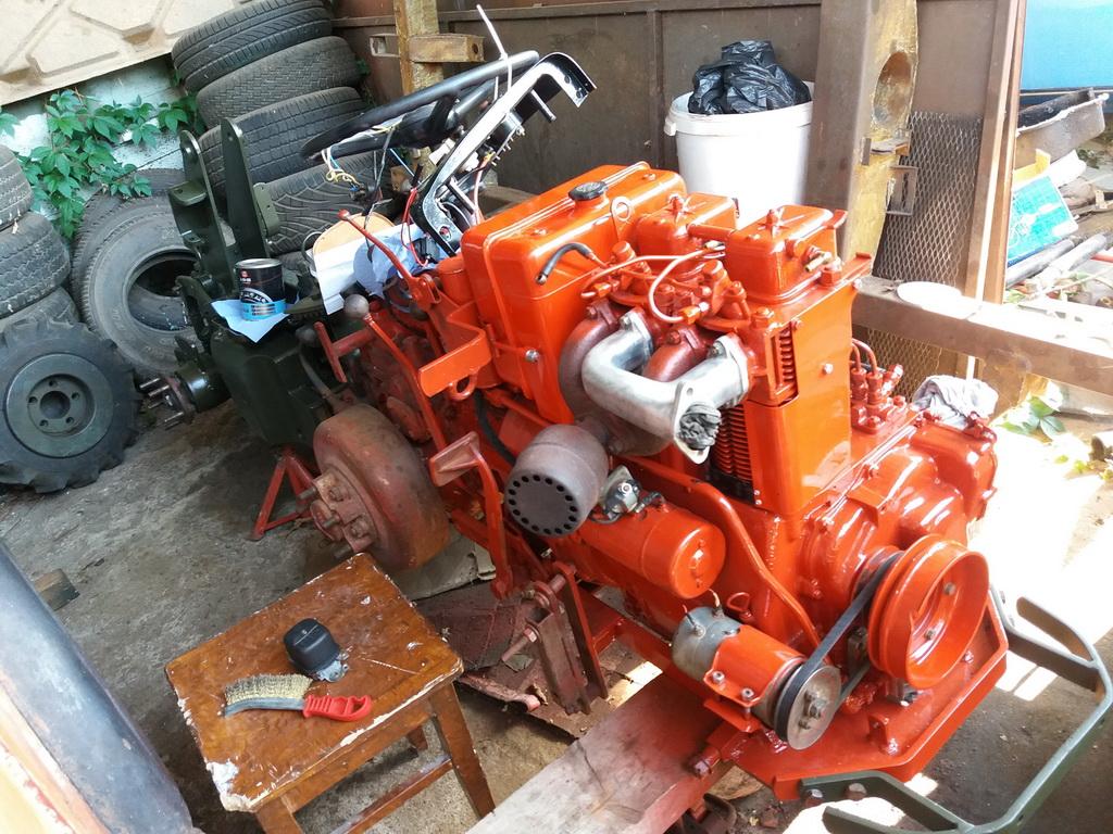 Mettre un filtre hydraulique en ligne retour sur Energic 4RM 03610