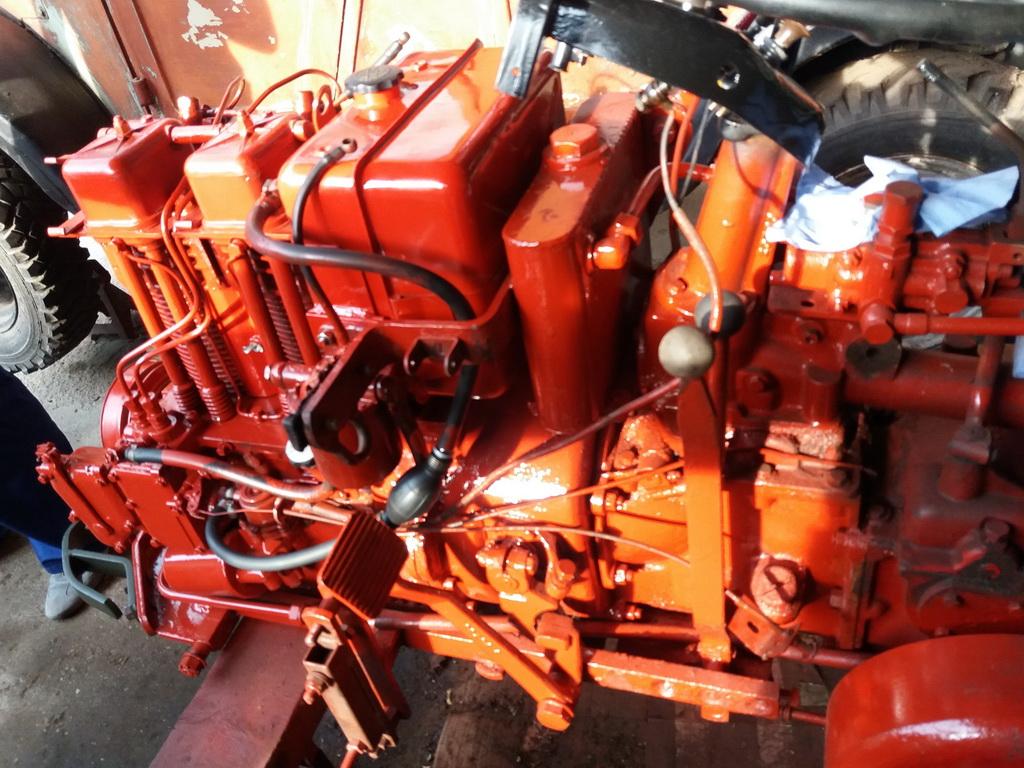 Mettre un filtre hydraulique en ligne retour sur Energic 4RM 04610