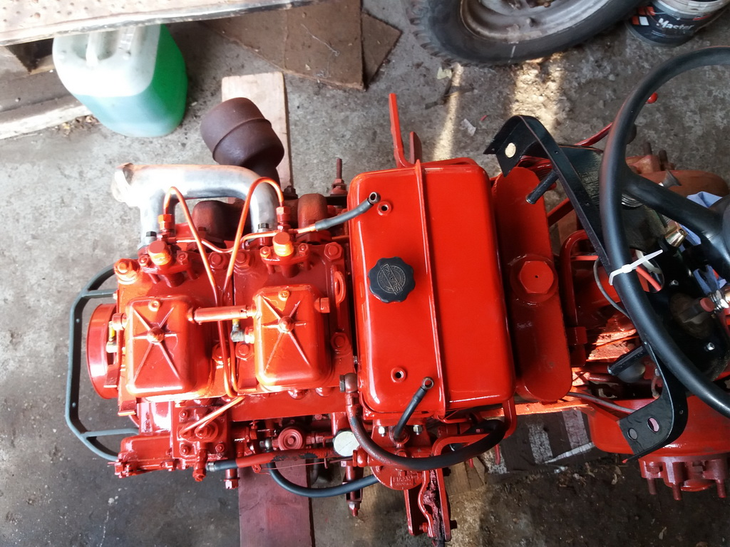 Mettre un filtre hydraulique en ligne retour sur Energic 4RM 04810