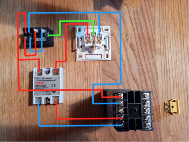 Régulateur de température pour four à émail à faire soi-même Captur54