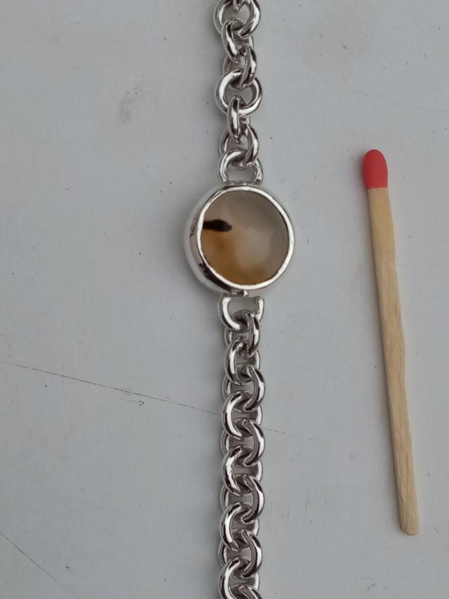 bracelet argent anneaux ronds cabochon et fermoir Img_2086