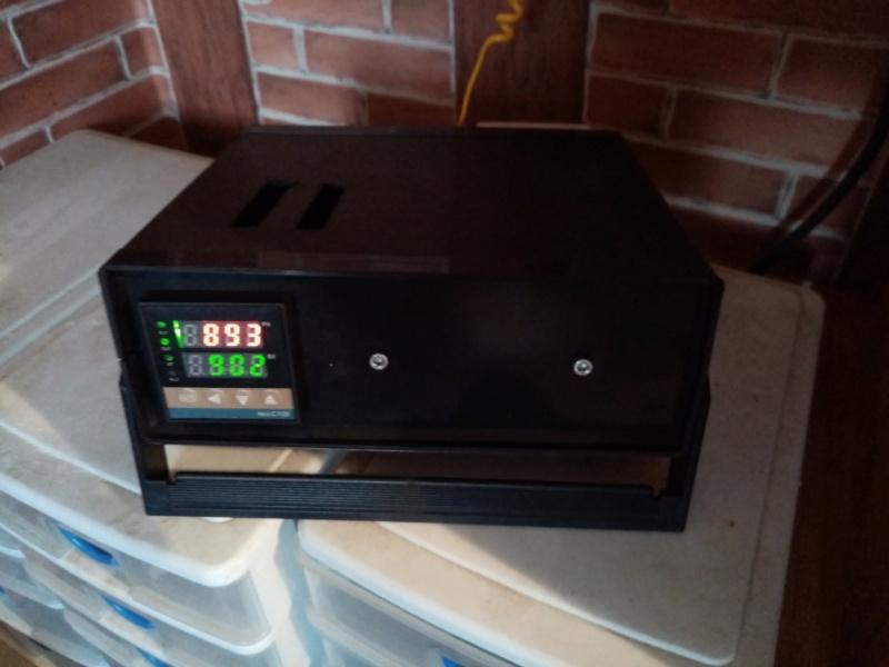 Régulateur de température pour four à émail à faire soi-même Img_2142