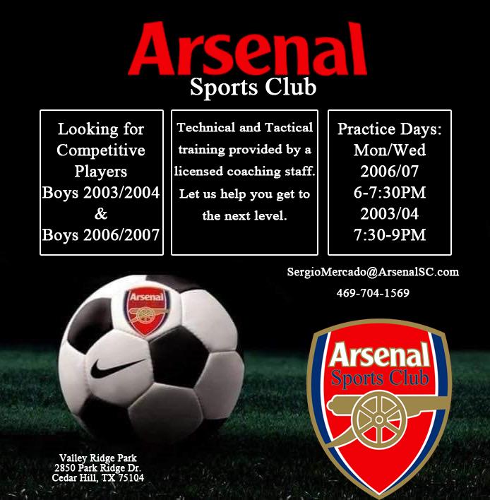 Arsenal SC - Open Practice Ae9ce910