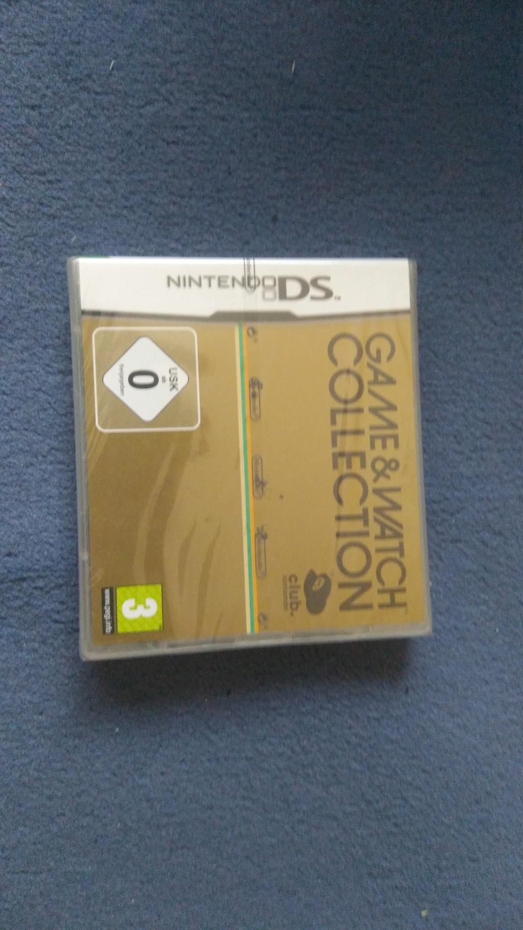 Game & Watch Collection neuf pour Nintendo DS, boites de jeux DS... Img_2020