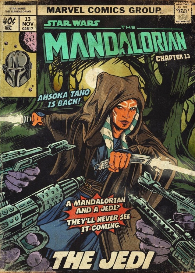 Star Wars : The Mandalorian [Star Wars - 2019] - Page 13 3103