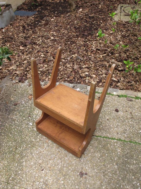 Petit meuble vintage en placage chène Img_2055