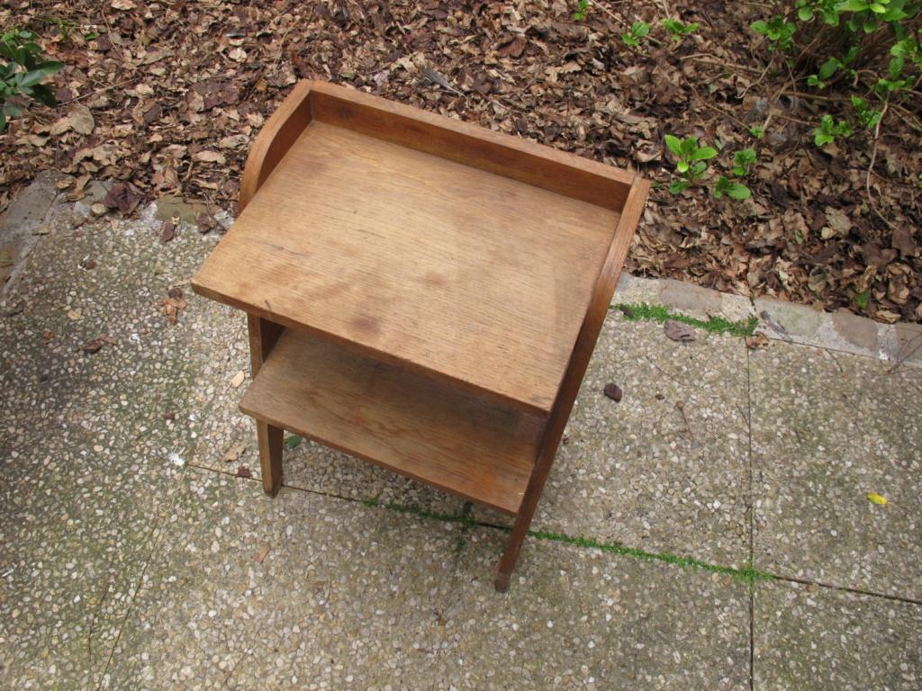 Petit meuble vintage en placage chène Img_2056