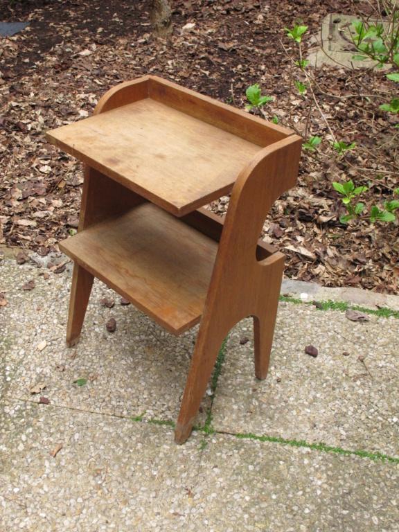 Petit meuble vintage en placage chène Img_2057