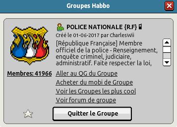 Le Républicain - L'accroissement de la Police Nationale, une filière hors normes Badge_10