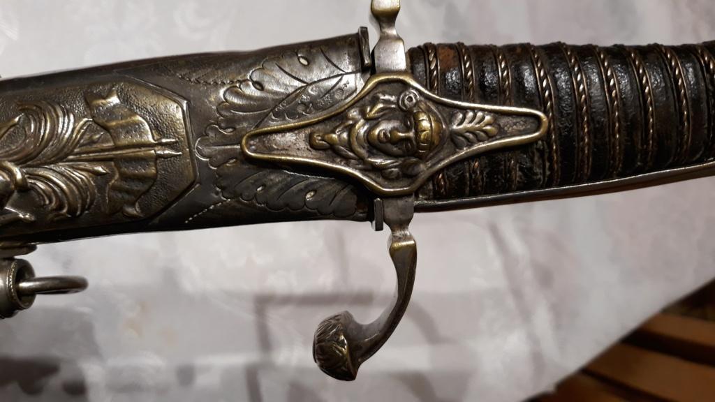 sabre de chasseur à cheval premier empire 20191163