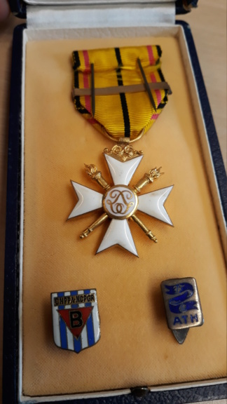 identification de médailles Belges 20200710