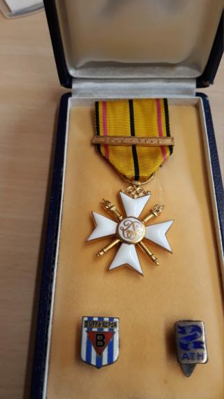 identification de médailles Belges 20200712
