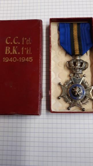 identification de médailles Belges 20200716