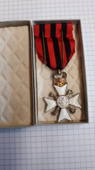 identification de médailles Belges 20200719