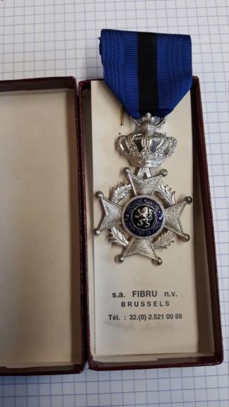 identification de médailles Belges 20200721