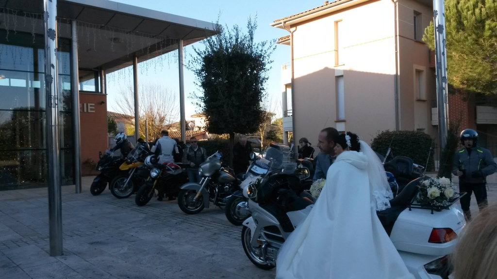C. R. Occitanie - Escorte Goldwing au mariage d'Anita et Laurent 20200113
