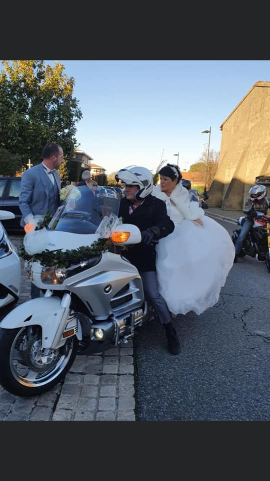 C. R. Occitanie - Escorte Goldwing au mariage d'Anita et Laurent 82264110