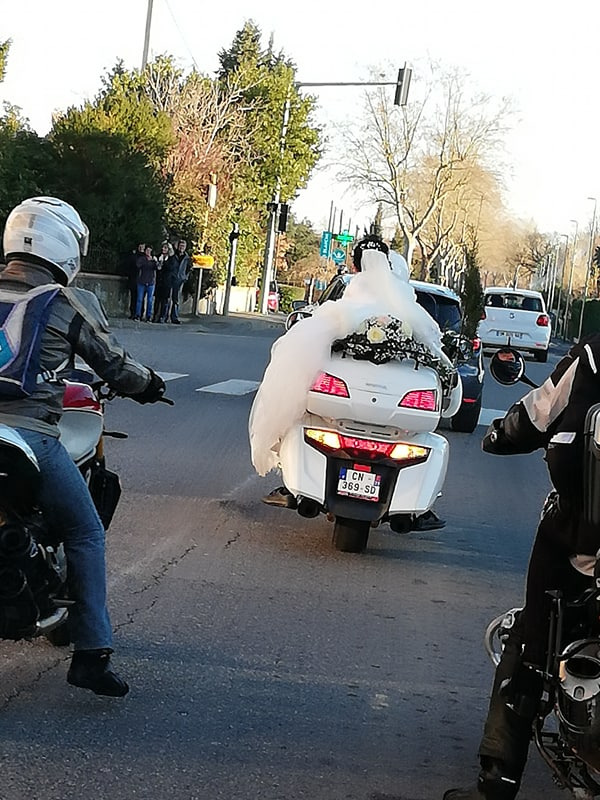 C. R. Occitanie - Escorte Goldwing au mariage d'Anita et Laurent 82945110