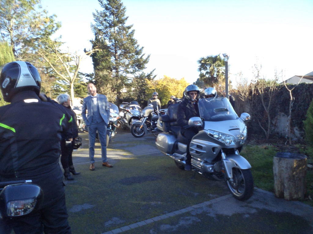 C. R. Occitanie - Escorte Goldwing au mariage d'Anita et Laurent Dsc06410