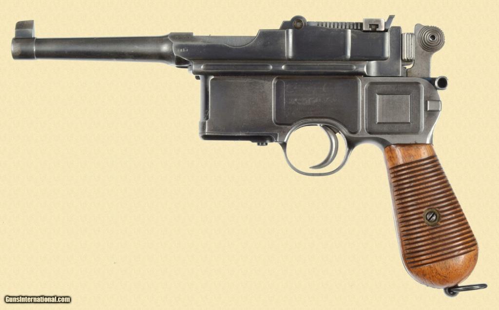 Le Luger dans les catalogues de vente de 1900 à 1934 1fadc010