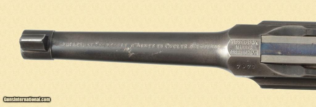 Le Luger dans les catalogues de vente de 1900 à 1934 2d11a210