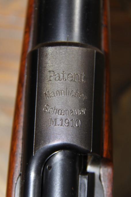 Mannlicher Schoenauer 1903 stutzen Img_7049