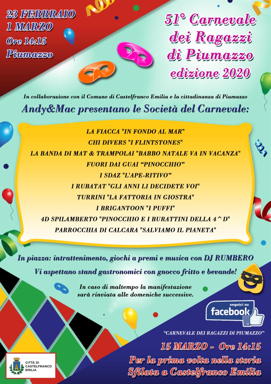 51° Carnevale dei ragazzi di Piumazzo  Volant10