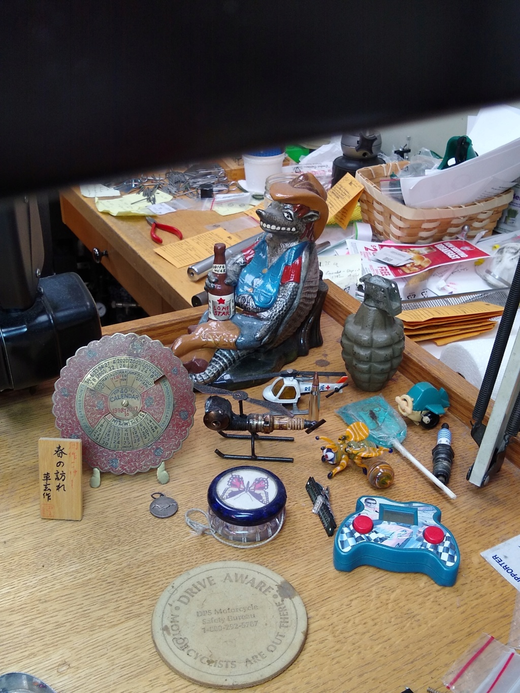 """Things that are Important...My Current """"Desk Shrine"""" Img_2018"""