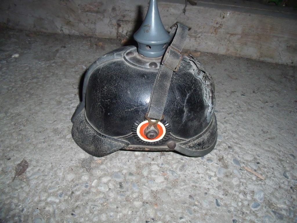 Authentification casque à pointe allemand Dscf1121