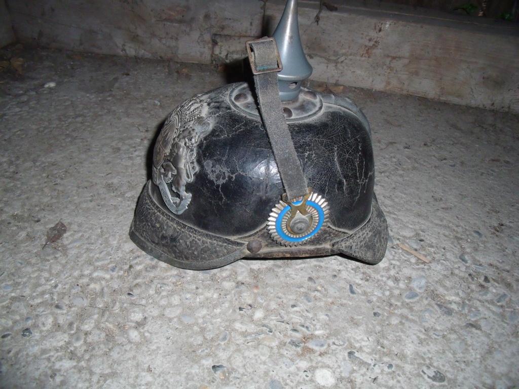 Authentification casque à pointe allemand Dscf1122